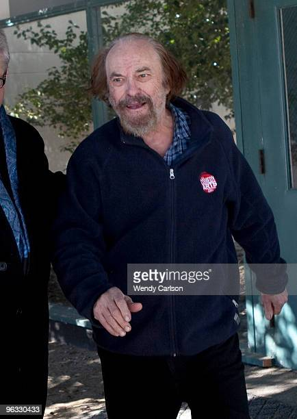 Actor Rip Torn exits Bantam Superior Court February 1 2010 in Bantam Connecticut Torn was arraigned on charges of criminal trespass carrying a gun...