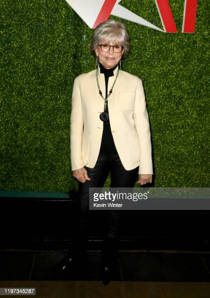 Actor Rita Moreno attends the 20th Annual AFI Awards at Four Seasons Hotel Los Angeles at Beverly Hills on January 03, 2020 in Los Angeles,...