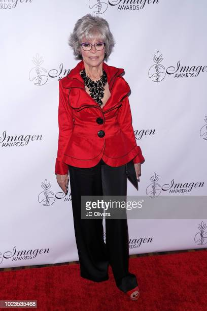 Actor Rita Moreno attends the 33rd Annual Imagen Awards at JW Marriott Los Angeles at LA LIVE on August 25 2018 in Los Angeles California