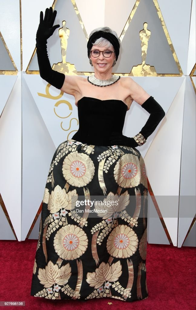 Actor Rita Moreno attends the 90th Annual Academy Awards at Hollywood & Highland Center on March 4, 2018 in Hollywood, California.