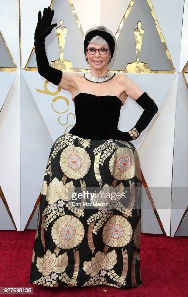 Actor Rita Moreno attends the 90th Annual Academy Awards at Hollywood Highland Center on March 4 2018 in Hollywood California
