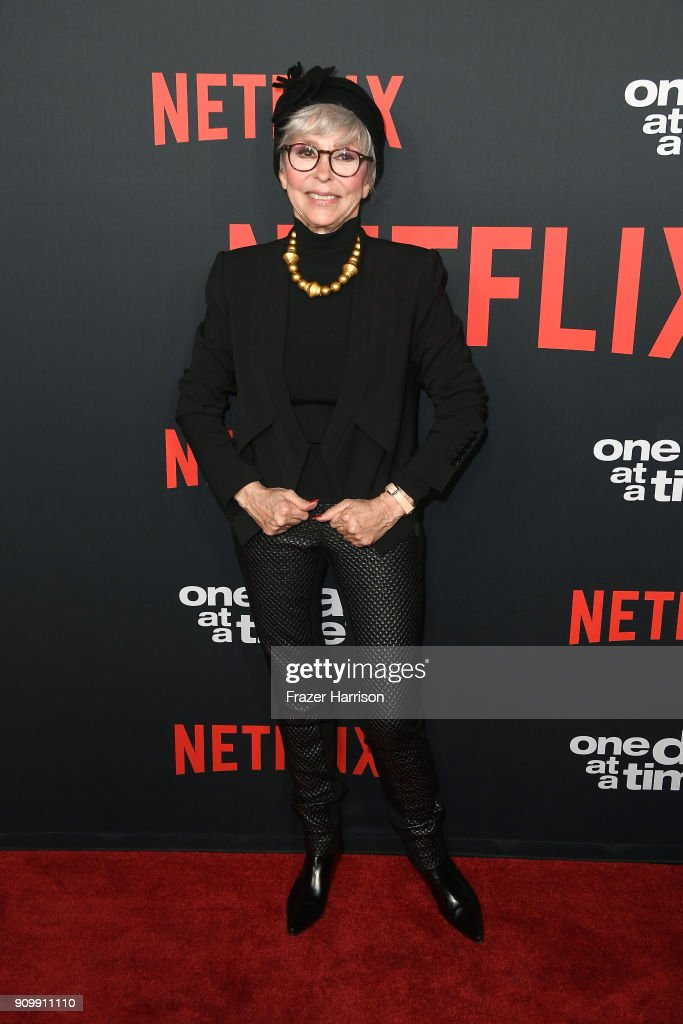 Actor Rita Moreno attends the premiere of Netflix's 'One Day At A Time' Season 2 at ArcLight Hollywood on January 24, 2018 in Hollywood, California.