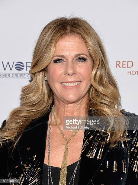 Actor Rita Wilson attends the 2016 Women's Guild Cedars-Sinai Annual Gala at The Beverly Hilton Hotel on November 9, 2016 in Beverly Hills,...