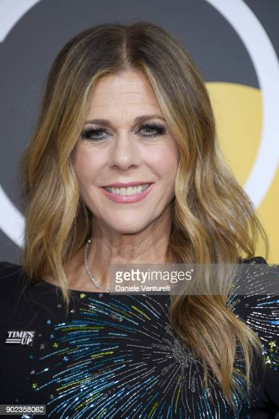 Actor Rita Wilson attends The 75th Annual Golden Globe Awards at The Beverly Hilton Hotel on January 7, 2018 in Beverly Hills, California.