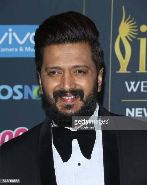Actor Riteish Deshmukh attends the 2017 International Indian Film Academy Festival at MetLife Stadium on July 14 2017 in East Rutherford New Jersey
