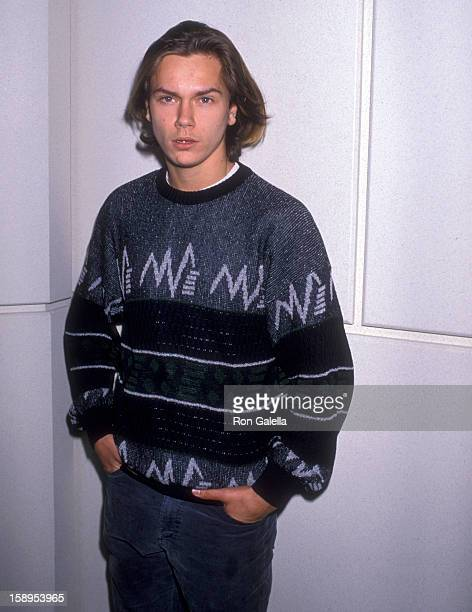 Actor River Phoenix attends the 61st Annual Academy Awards Nominees Luncheon on March 21 1989 at Beverly Hilton Hotel in Beverly Hills California