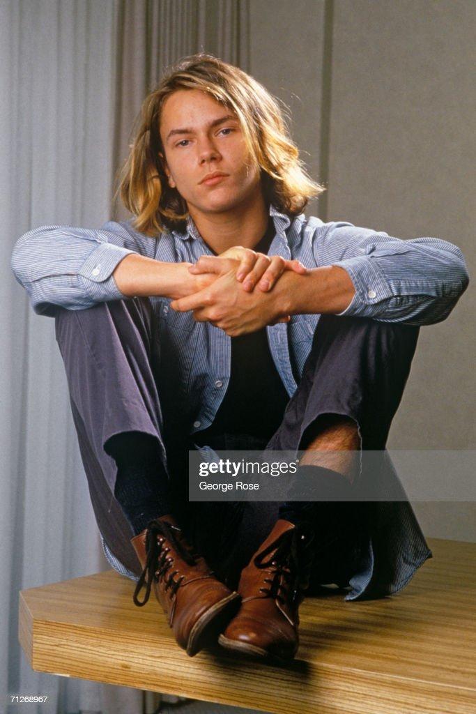 Actor River Phoenix Portrait Session : News Photo