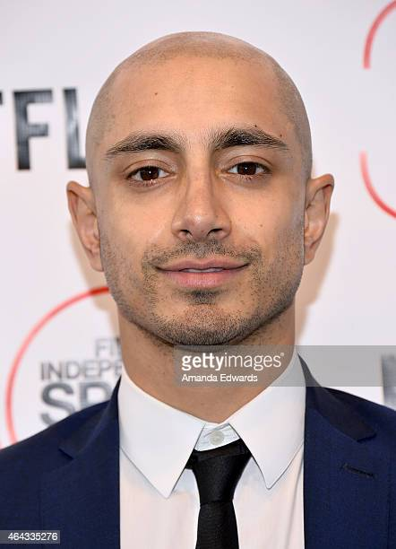 Actor Riz Ahmed attends the 2015 Film Independent Spirit Awards after party at The Bungalow on February 21 2015 in Santa Monica California
