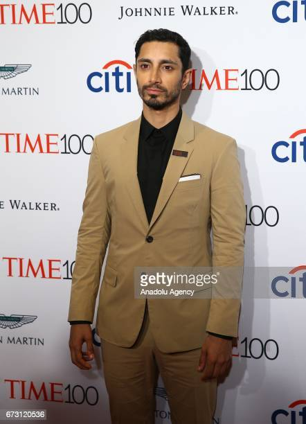Actor Riz Ahmed attends the 2017 TIME 100 Gala at Jazz at Lincoln Center in New York United States on April 25 2017