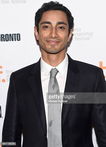 Actor Riz Ahmed attends the Nightcrawler premiere during the 2014 Toronto International Film Festival at The Elgin on September 5 2014 in Toronto...