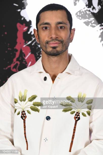 """Actor Riz Ahmed attends the photo call for Columbia Pictures' """"Venom"""" at Four Seasons Hotel Los Angeles at Beverly Hills on September 27, 2018 in Los..."""
