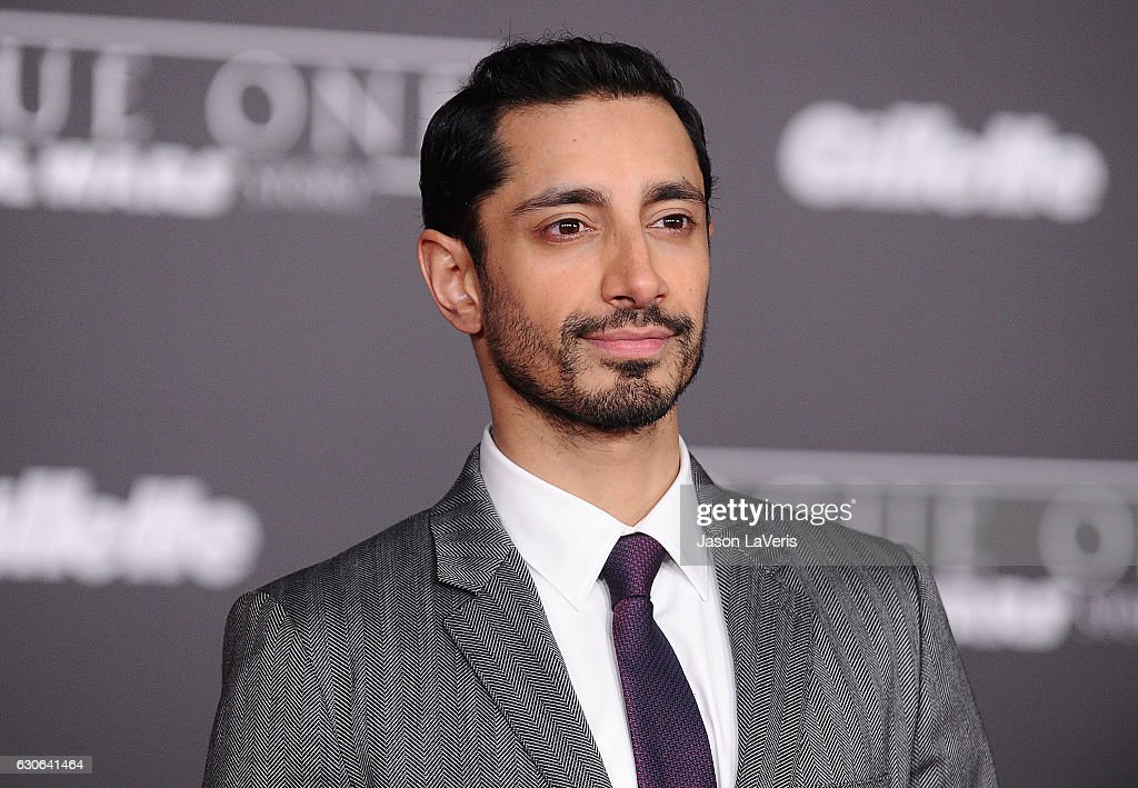 Actor Riz Ahmed attends the premiere of 'Rogue One: A Star Wars Story' at the Pantages Theatre on December 10, 2016 in Hollywood, California.