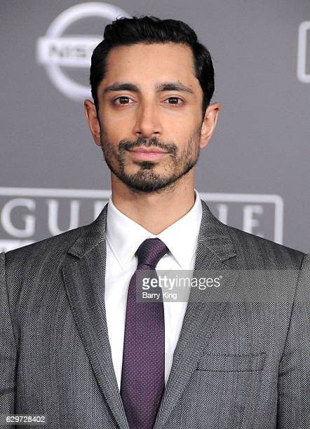 Actor Riz Ahmed attends the premiere of Walt Disney Pictures and Lucasfilms' 'Rogue One A Star Wars Story' at the Pantages Theatre on December 10...