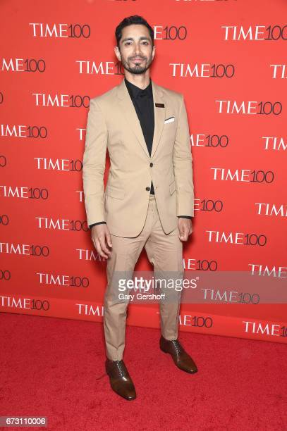 Actor Riz Ahmed attends the Time 100 Gala at Frederick P Rose Hall Jazz at Lincoln Center on April 25 2017 in New York City
