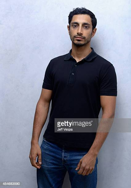 Actor Riz Ahmed of Nightcrawler poses for a portrait during the 2014 Toronto International Film Festival on September 5 2014 in Toronto Ontario