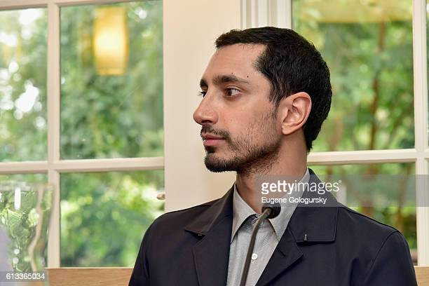 Actor Riz Ahmed speaks at Variety's 10 To Watch Brunch and Panel during the Hamptons International Film Festival 2016 at Nick Toni's on October 8...