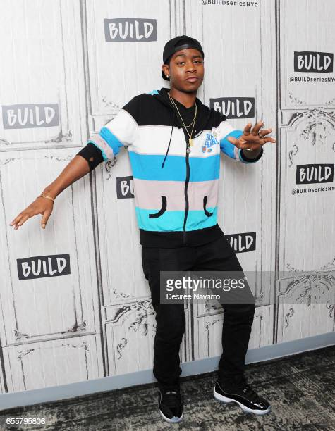 Actor RJ Cyler attends Build Series to discuss 'Power Rangers' at Build Studio on March 20 2017 in New York City