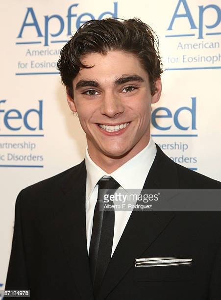 Actor RJ Mitte arrives at the American Partnership For Eosinophilic Disorders Gala held at the Mondrian Hotel on May 11 2009 in West Hollywood...