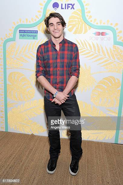 Actor RJ Mitte attends Kari Feinstein's Style Lounge presented by LIFX on February 25, 2016 in Los Angeles, California.