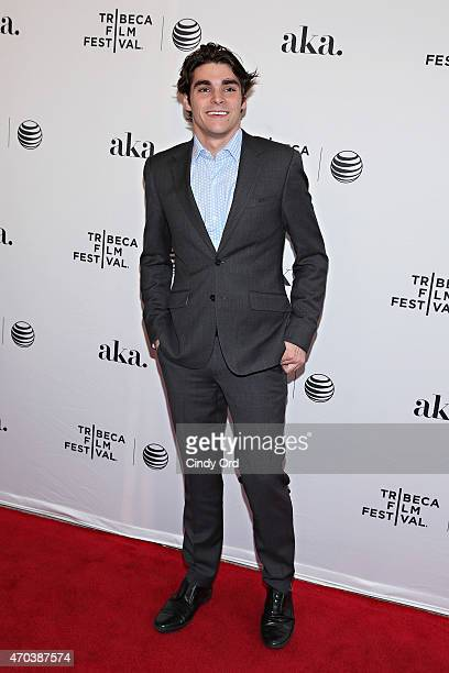 """Actor RJ Mitte attends the """"Dixieland"""" Premiere during the 2015 Tribeca Film Festival at SVA Theater on April 19, 2015 in New York City."""