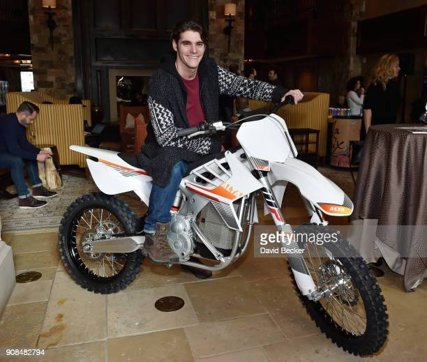 Actor RJ Mitte attends the Gamechanger Films reception at the RAND Luxury Escape during the 2018 Sundance Film Festival at The St Regis Deer Valley...