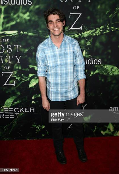 Actor RJ Mitte attends the premiere of Amazon Studios' 'The Lost City Of Z' at ArcLight Hollywood on April 5 2017 in Hollywood California