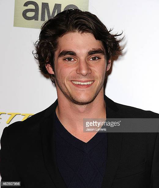 """Actor RJ Mitte attends the premiere of """"Better Call Saul"""" at Regal Cinemas L.A. Live on January 29, 2015 in Los Angeles, California."""