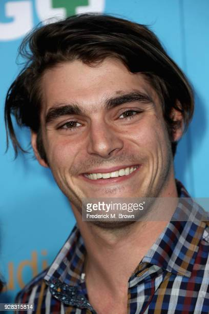 Actor RJ Mitte attends the world premiere of 'Gringo' from Amazon Studios and STX Films at Regal LA Live Stadium 14 on March 6, 2018 in Los Angeles,...