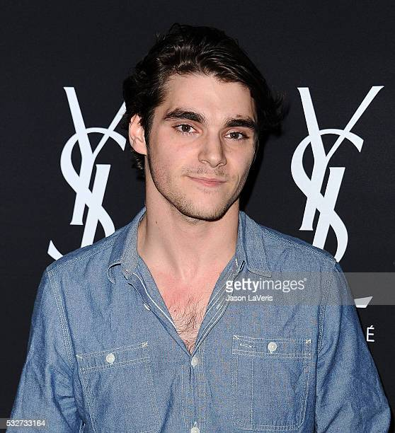 Actor RJ Mitte attends the Yves Saint Laurent Beauty event at Gibson Brands Sunset on May 18, 2016 in Los Angeles, California.