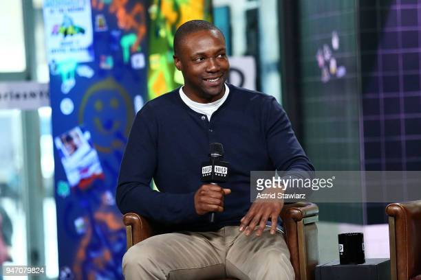 Actor Rob Brown discusses the NBC drama Blindspot at Build Studio on April 16 2018 in New York City