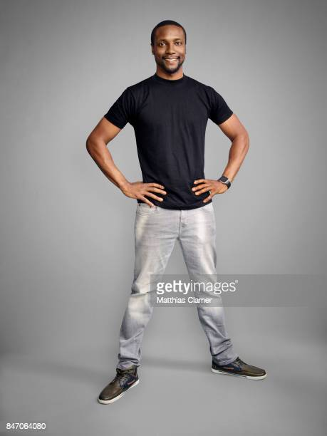 Actor Rob Brown from 'Blindspot' is photographed for Entertainment Weekly Magazine on July 23 2016 at Comic Con in the Hard Rock Hotel in San Diego...