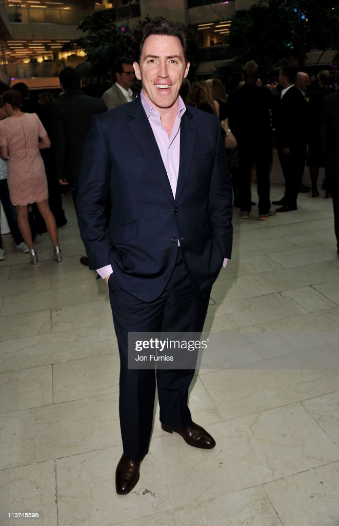 Actor Rob Brydon attends the nominees party for 'The Philips British Academy Television and British Academy Television Craft Awards' at Coutts Bank on May 5, 2011 in London, England.