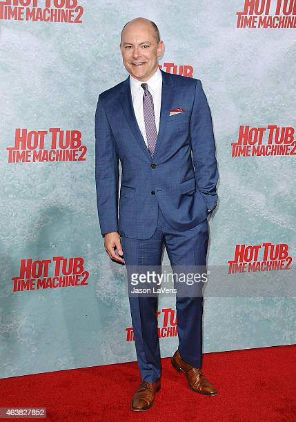Actor Rob Corddry attends the premiere of 'Hot Tub Time Machine 2' at Regency Village Theatre on February 18 2015 in Westwood California