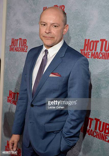 Actor Rob Corddry attends the premiere of Paramount Pictures' 'Hot Tub Time Machine 2' at Regency Village Theatre on February 18 2015 in Westwood...