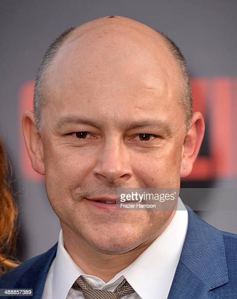 Actor Rob Corddry attends the premiere of Warner Bros Pictures and Legendary Pictures' 'Godzilla' at Dolby Theatre on May 8 2014 in Hollywood...