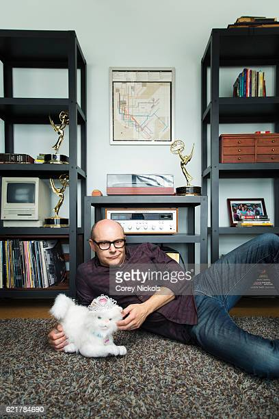 Actor Rob Corddry is photographed for Emmy Magazine on April 12 2016 in Los Angeles California