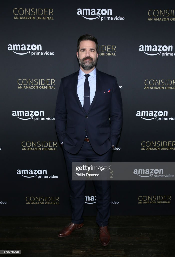 Actor Rob Delaney attends the Amazon Studios Emmy For Your Consideration Event at Hollywood Athletic Club on April 20, 2017 in Hollywood, California.