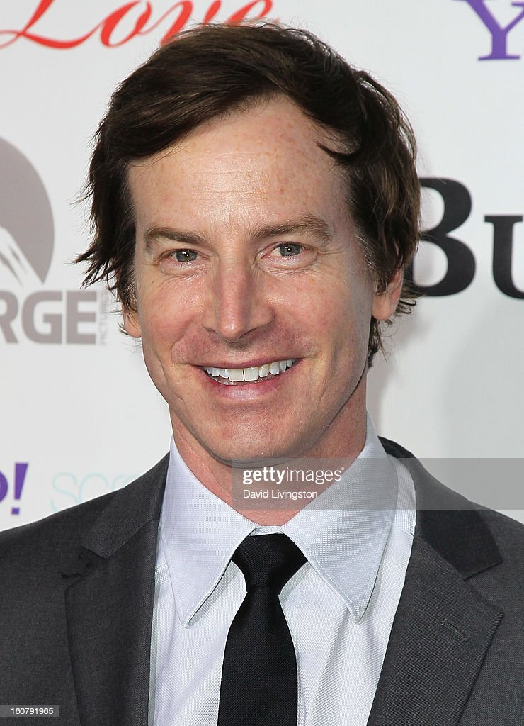 Actor Rob Huebel attends the premiere of 'Burning Love' Season 2 at the Paramount Theater on the Paramount Studios lot on February 5, 2013 in Hollywood, California.