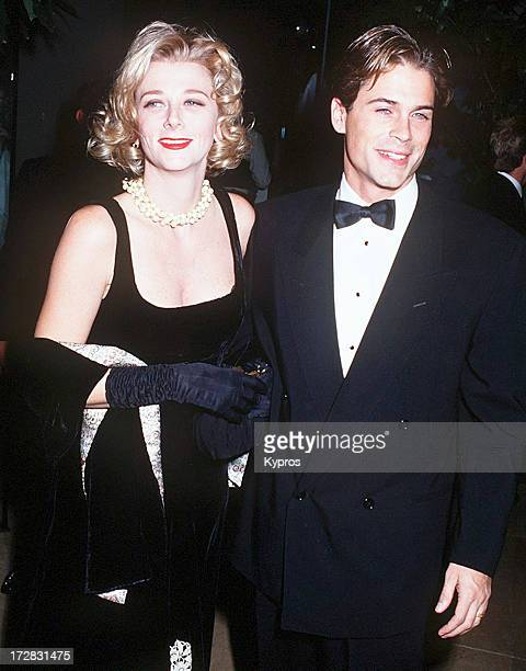 Actor Rob Lowe and his wife Sheryl Berkoff at the 8th Annual Carousel of Hope Ball at the Beverly Hilton Hotel in Beverly Hills California United...