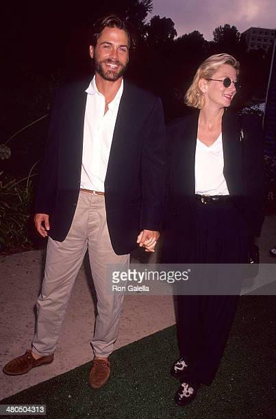 Actor Rob Lowe and wife Sheryl Berkoff attend An Evening at the Net Benefit for Revlon/UCLA Women's Cancer Research Program to KickOff the 66th...
