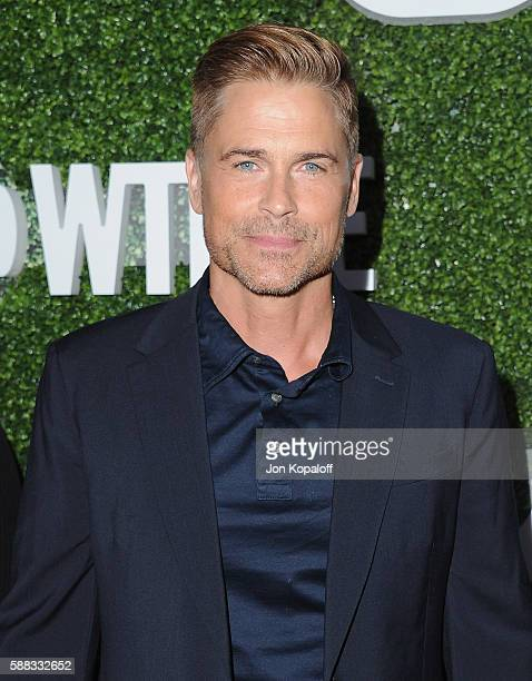 Actor Rob Lowe arrives at CBS CW Showtime Summer TCA Party at Pacific Design Center on August 10 2016 in West Hollywood California