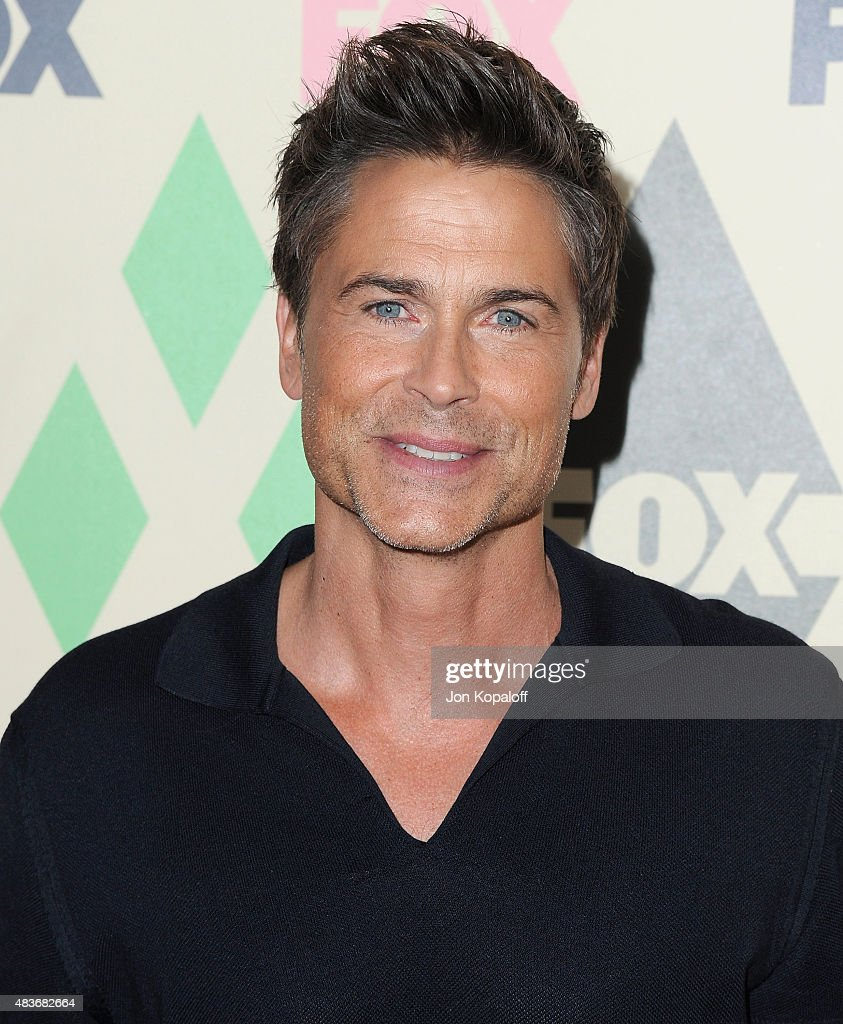 Actor Rob Lowe arrives at the 2015 Summer TCA Tour FOX All-Star Party at Soho House on August 6, 2015 in West Hollywood, California.