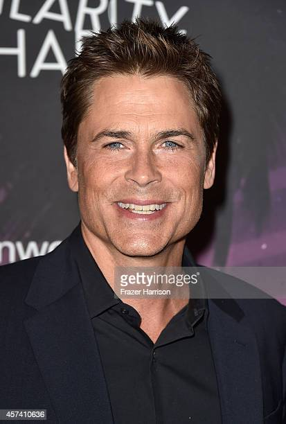 Actor Rob Lowe arrives at the 3rd Annual Los Angeles Hilarity for Charity Variety Show at Hollywood Palladium on October 17 2014 in Hollywood...