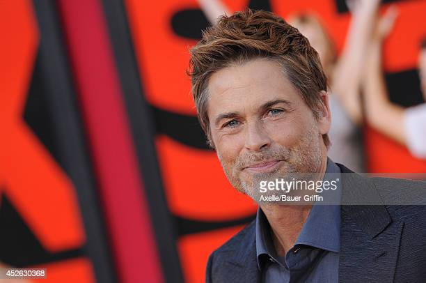 Actor Rob Lowe Arrives At The Los Angeles Premiere Of Sex Tape At Regency