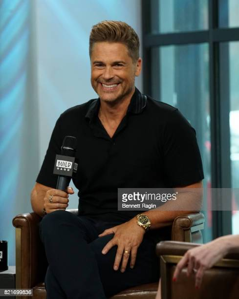 Actor Rob Lowe attends Build to discuss 'The Lowe Files' at Build Studio on July 24 2017 in New York City