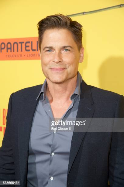 Actor Rob Lowe attends the Premiere Of Pantelion Films 'How To Be A Latin Lover' at ArcLight Cinemas Cinerama Dome on April 26 2017 in Hollywood...