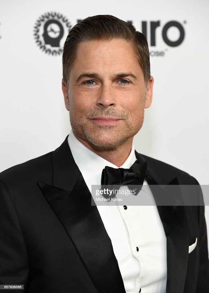 Actor Rob Lowe celebrates Elton John's 70th Birthday and 50-Year Songwriting Partnership with Bernie Taupin benefiting the Elton John AIDS Foundation and the UCLA Hammer Museum at RED Studios Hollywood on March 25, 2017 in Los Angeles, California.