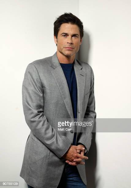Actor Rob Lowe from the film 'Invention of Lying' poses for a portrait during the 2009 Toronto International Film Festival at The Sutton Place Hotel...