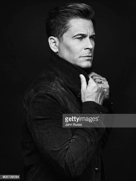 Actor Rob Lowe is photographed for Emmy Magazine on March 14 2017 in Los Angeles California PUBLISHED IMAGE