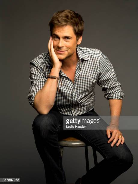Actor Rob Lowe is photographed for Self Assignment on April 24 2012 in New York City